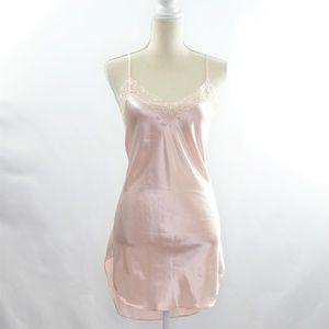 Victoria's Secret Vintage Blush Pink Nightie Lace